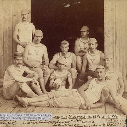 Yale University Crew, 1880 & 1881